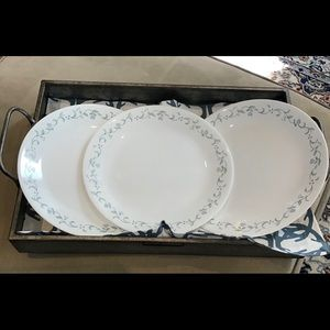 Corelle Country Cottage Dinner Plate (3) EUC